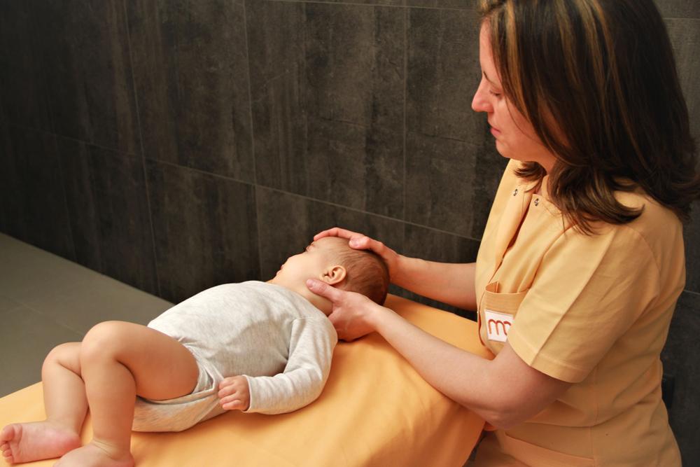 Osteopatía bebés y niños