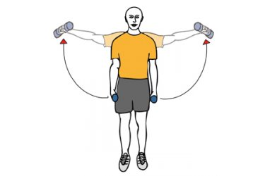 Elevacions laterals de braços